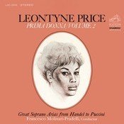 Leontyne Price - Prima Donna Vol. 2: Great Soprano Arias From Handel To Puccini Songs