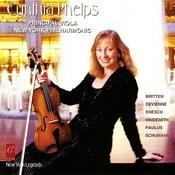 Cynthia Phelps Plays Enescu, Britten, Hindemith, Devienne, et al. Songs