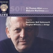 Wigmore Hall Live - Songs By Beethoven, Wolf, Butterworth, Vaughan Williams, And Bridge Songs
