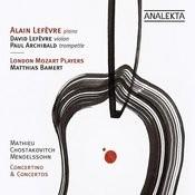 Mathieu, Shostakovich, Mendelssohn: Concertino & Concertos Songs