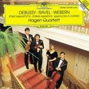 Debussy / Ravel / Webern: String Quartets Songs