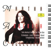 Martha Argerich - Solo Works & Works for Piano Duo Songs