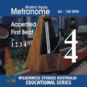 Metronome 4/4 Time Accented 1st Beat Songs