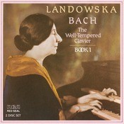 Bach:Well Tempered Clavier Book I Songs