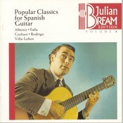 Bream Collection Volume 8 - Popular Classics For Spanish Guitar Songs