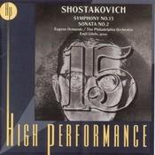Shostakovich: Symphony No. 15 & Piano Sonata No. 2 Songs