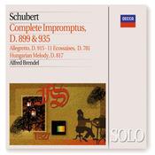 Schubert: Complete Impromptus, D899 & D935; 11 Ecossaises, &c Songs