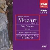 Mozart: Don Giovanni Extraits Songs