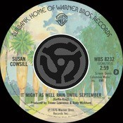 It Might As Well Rain Until September / Mohammed's Radio (Digital 45) Songs