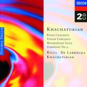 Khachaturian: Piano Concerto/Violin Concerto, Etc. (2 Cds) Songs