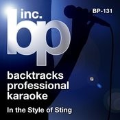 Karaoke - In the Style of Sting Songs