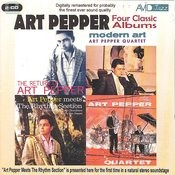 Four Classic Albums (The Return Of/Modern Art/Meets The Rhythm Section/The Art Pepper Quartet) (Digitally Remastered) Songs
