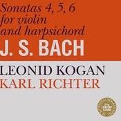 Bach: Sonatas for Violin and Harpsichord No. 4-6 Songs