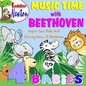 Music Time With Beethoven - 4 Babies Songs