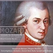 Mozart: Serenade For Orchestra In D Major No. 9, K.320: Divertimento In E Flat Major, No. 12, K252 Songs