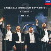 The Three Tenors - In Concert - Rome 1990 Songs