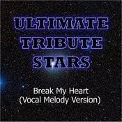 Estelle Feat. Rick Ross - Break My Heart (Vocal Melody Version) Songs