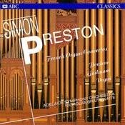 French Organ Concertos Songs