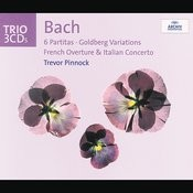 Bach: 6 Partitas; Goldberg Variations; French Overture; Italian Concerto (3 Cds) Songs