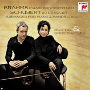 Brahms Klavierkonzert Nr.1, Schubert 20 Ländler Songs