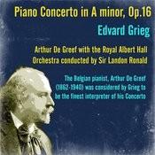 Grieg: Piano Concerto In A Minor, Op.16 Songs