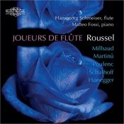 Roussel, Milhaud, Martinu, Poulenc, Schulhoff & Honegger: Music For Flute And Piano Songs