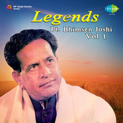 Bhimsen Joshi Vol 1 Songs