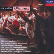The World of Offenbach Songs