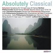 Schumann: Symphony No.1/Khachaturian: Masquerade Suite /Haydn: String Quartet in G Major, et. al Songs