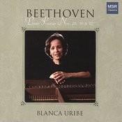 Beethoven: Piano Sonatas Nos. 28, 30 & 32 Songs