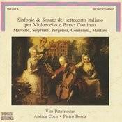 Sinfonie And Sonate Del Settecento Italiano Per Violoncello E Basso Continuo Songs
