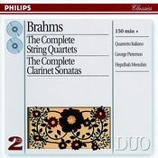 Brahms: The Complete String Quartets/Clarinet Sonatas (2 CDs) Songs