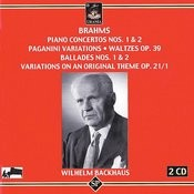 Brahms: Piano Concertos 1 & 2 - Paganini Variations - Waltzes - Ballades 1 & 2 - Variations On An Original Theme Songs