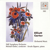 Elliott Carter: Concerto For Piano And Orchestra Songs