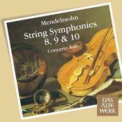 Mendelssohn : String Symphonies Nos 8 - 10 (DAW 50) Songs