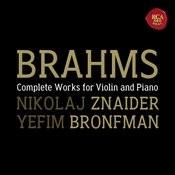 Brahms:  Violin Sonatas Songs