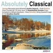 Schubert: String Quartet in B Major/Brahms: Piano Concerto No. 1 in D Minor, Op. 15, et. al Songs