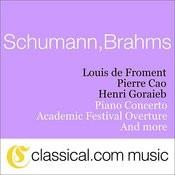 Robert Schumann, Piano Concerto In A Minor, Op. 54 Songs