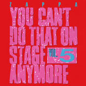 You Can't Do That On Stage Anymore, Vol. 5 Songs