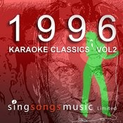 1996 Karaoke Classics Volume 2 Songs