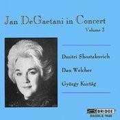 Jan Degaetani In Concert, Vol. 3 Songs