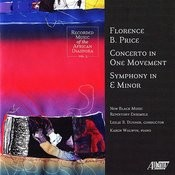 Florence Price: Concerto/Symphony In E Minor Songs