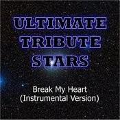 Estelle Feat. Rick Ross - Break My Heart (Instrumental Version) Songs