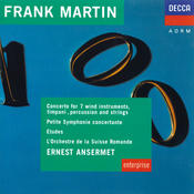 Martin: Concerto For 7 Wind Instruments, Etudes, Petite Symphonie Concertante Songs