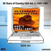50 Years Of Country Usa, Vol. 1: 1941-1961 Songs