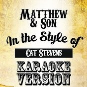 Matthew & Son (In The Style Of Cat Stevens) [Karaoke Version] - Single Songs