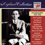 The Copland Collection: Early Orchestral Works 1922-1935 Songs