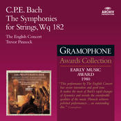 Bach, C.P.E.: The Symphonies for Strings Songs