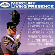 Gould: West Point Symphony/Hovhaness: Symphony No.4/Giannini: Symphony No. 3 Songs