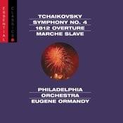 Tchaikovsky: Symphony No. 4, Op. 36, 1812 Overture, Op. 49 & Marche slave, Op. 31 Songs